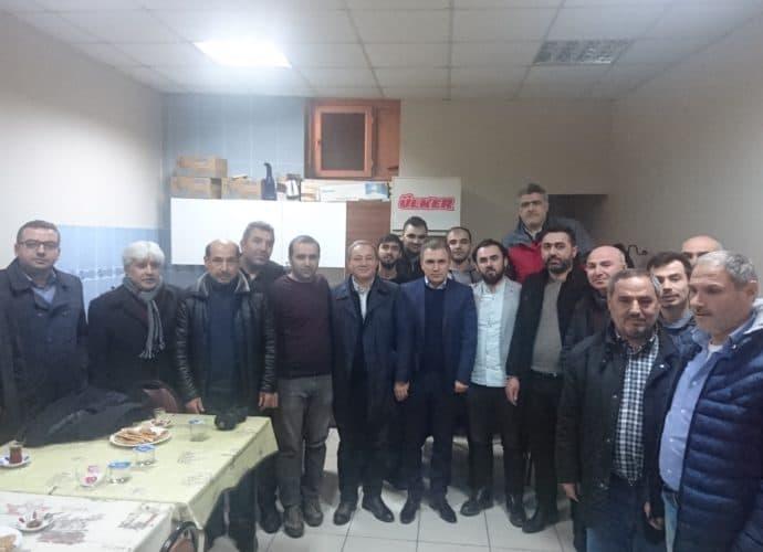 Vakıf Başkanı Süleyman BABA'dan Derneğimize Ziyaret