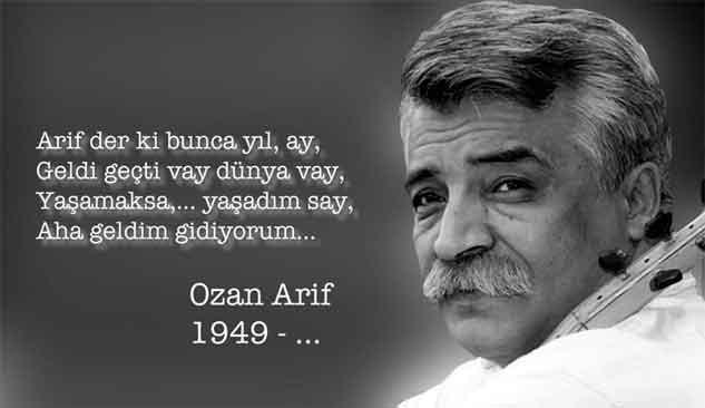 Ozan Arif Şirin Vefat etti
